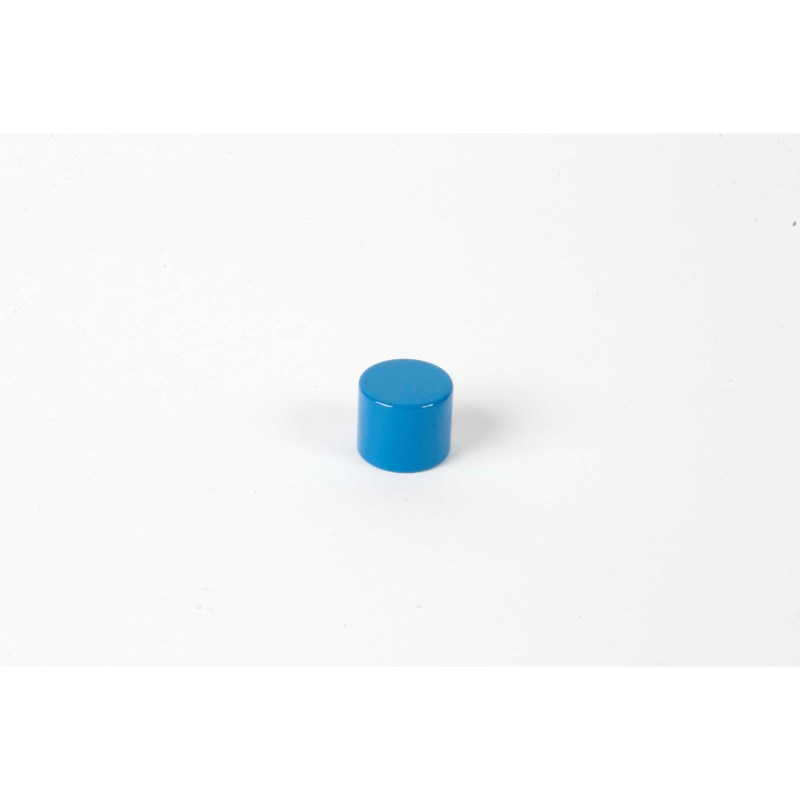 Farbige Zylinder: 3. blauer Zylinder