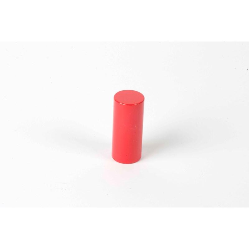 Farbige Zylinder: 4. roter Zylinder