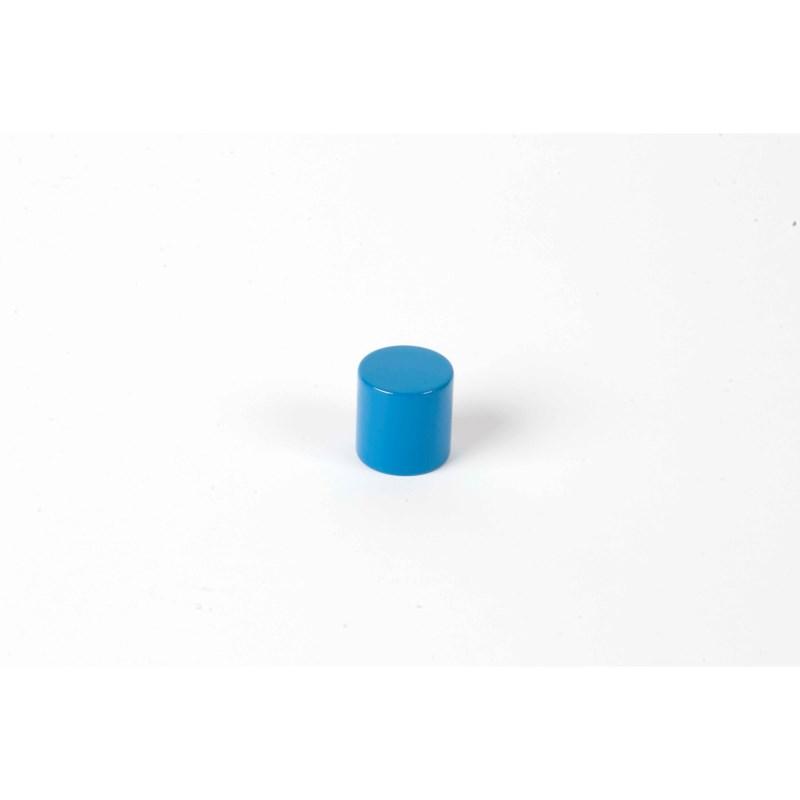 Farbige Zylinder: 4. blauer Zylinder