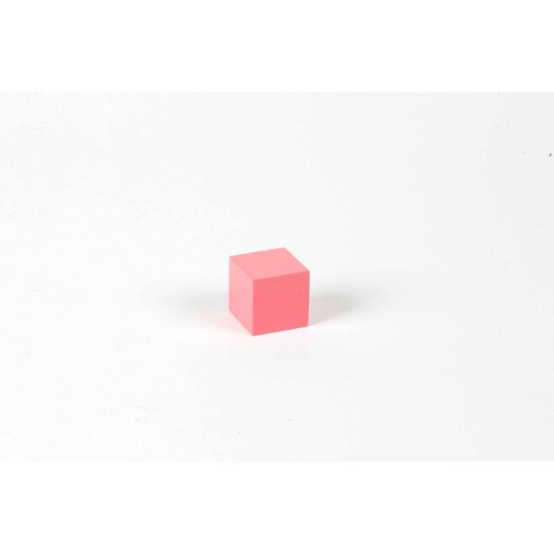 Rosa Turm: Würfel 3 x 3 x 3