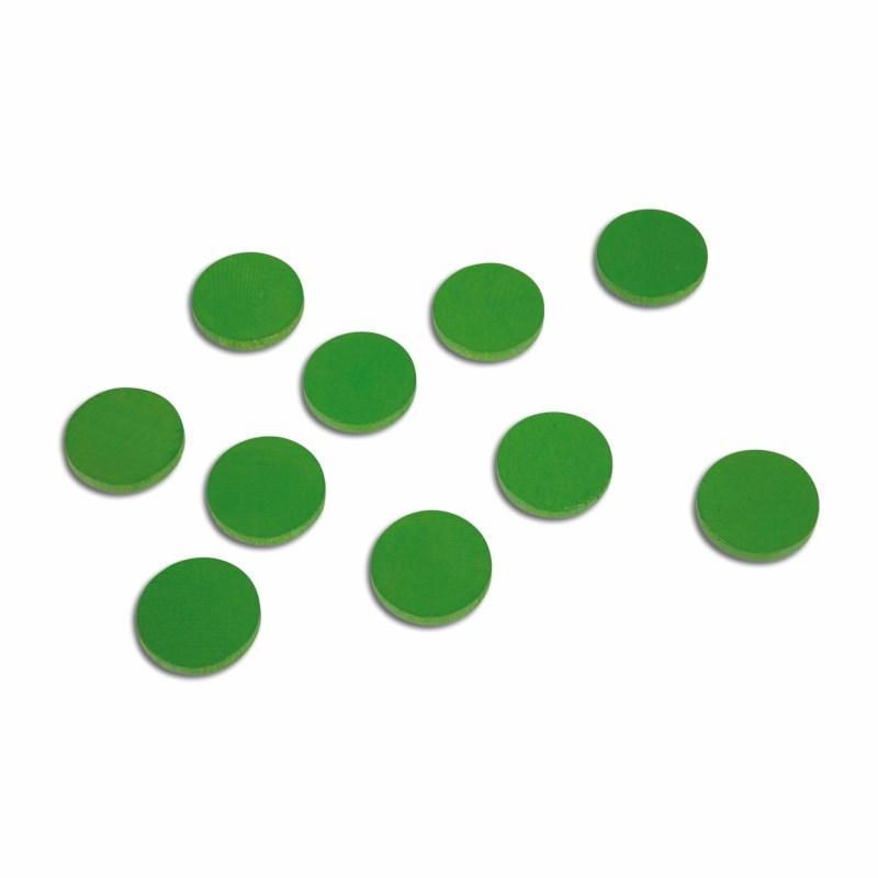 Holzchips (100), grün