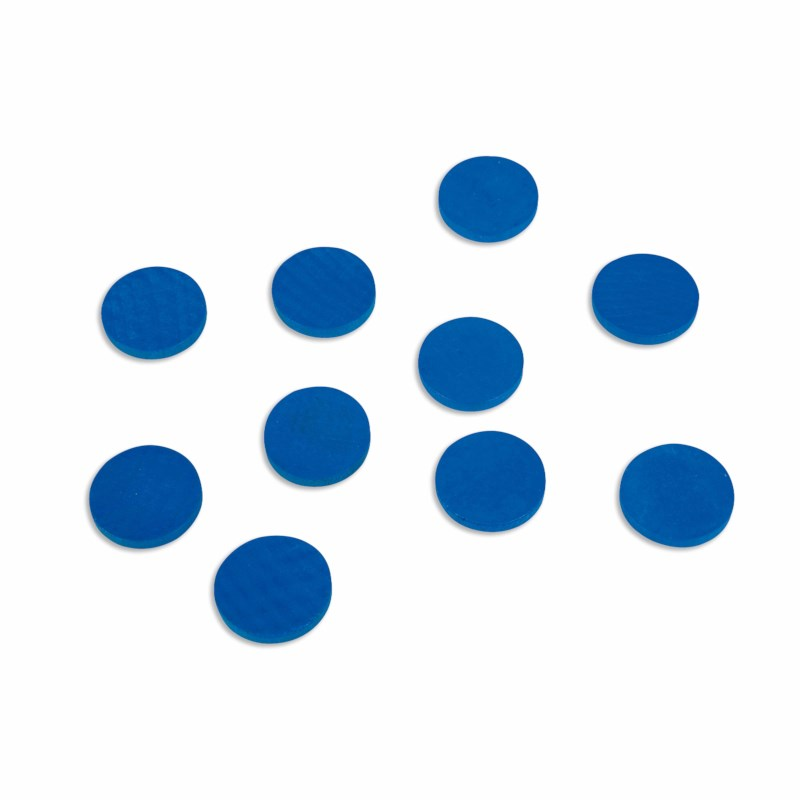 Holzchips (100), blau