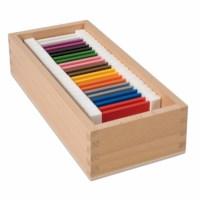 Farbtäfelchen - 2 mal 11 Farben