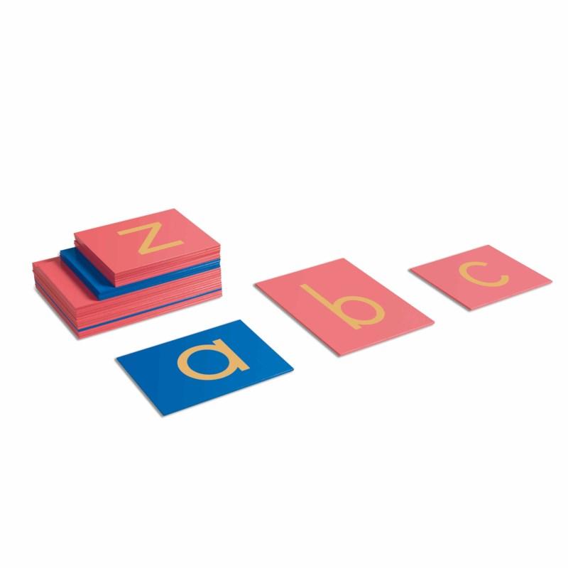 Sandpapierkleinbuchstaben - Druckschrift (internationale Version)