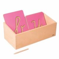 Kasten für die Rillenbuchstaben