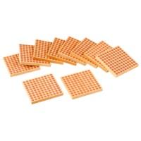 Holzquadrat (10 Stück)