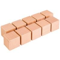 Holzkuben (10 Stück)