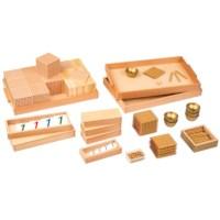 Goldenes Perlenmaterial mit Kartensätzen: Lose Perlen, Kunststoff