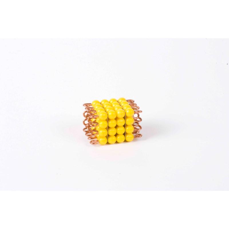 Perlenkubus von 4: Lose Perlen, Kunststoff