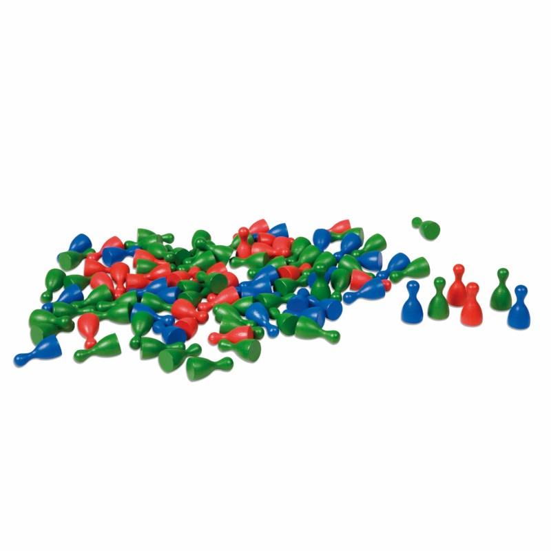 Satz mit 100 kleinen Kegeln