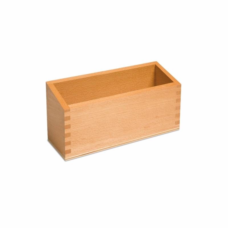 Kasten aus Holz (naturfarbig)