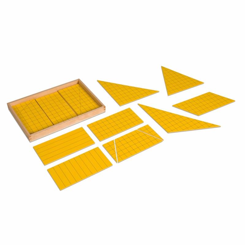 Dreiecke für Flächeninhaltsberechnung (Satz)