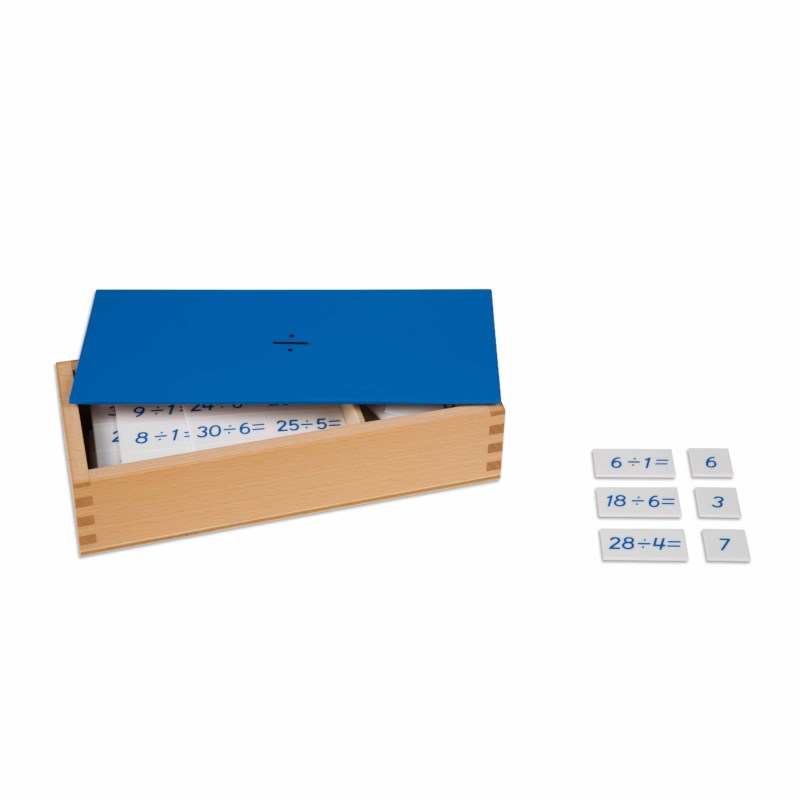 Division Equations And Dividends Box