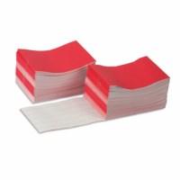 Schreibheftchen (rot), groß (100)