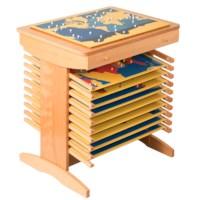 Ständer für zehn Puzzlekarten