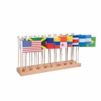 Flaggenständer Nord- und Südamerika