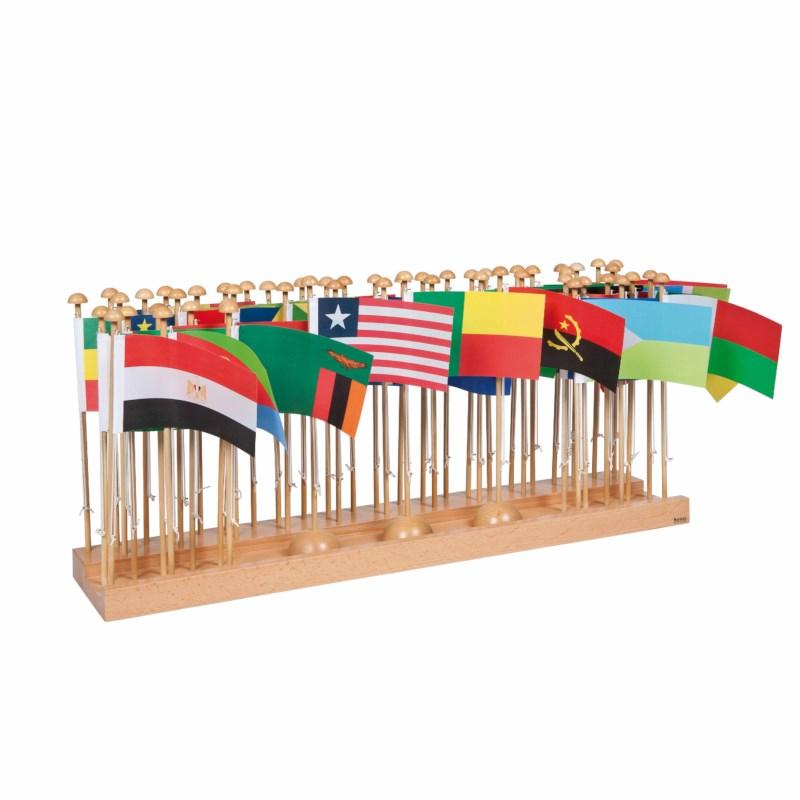 Flaggenständer Afrika