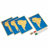 Steckkarten Südamerika