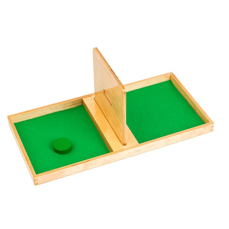 Briefkasten-Brett mit einer Scheibe