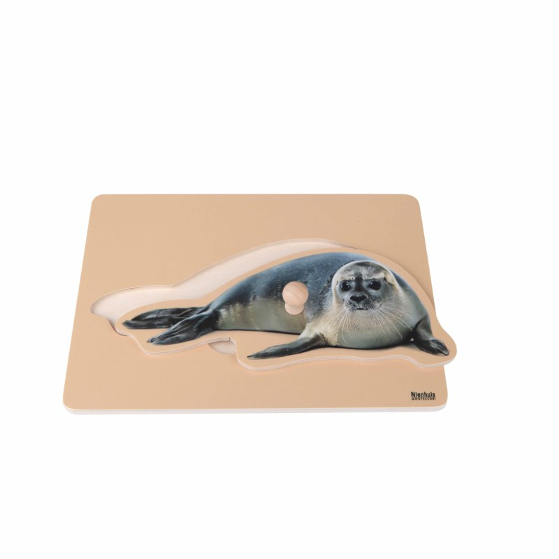 Kleinkindpuzzle - Seehund