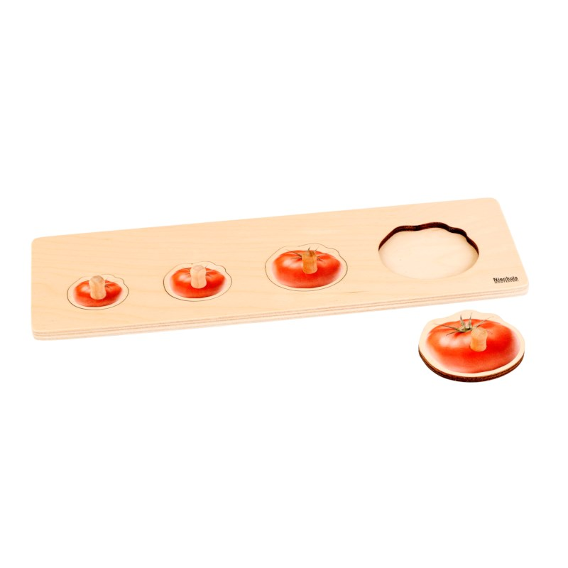 Kleinkind Puzzle - 4 Tomate
