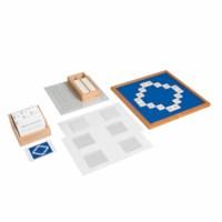 Kasten mit Aufgabenkarten für das Hunderterbrett
