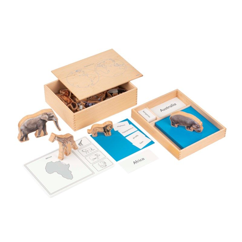 The Animal Continent Box