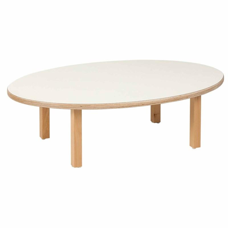 Kleinkindtisch, oval