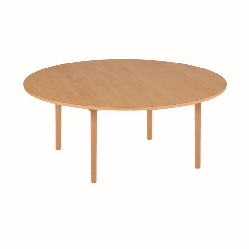 Gruppentisch rund - orange
