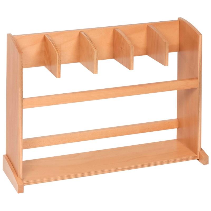 Ständer für fünf Arbeitsteppiche