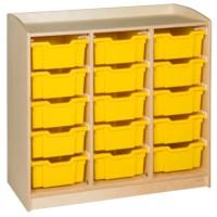 Schrank mit 15 Schubladen (101 cm)