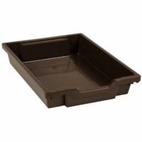 Kunststoff Schubladen, braun (7 cm)