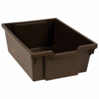 Kunststoff Schubladen, braun (15 cm)