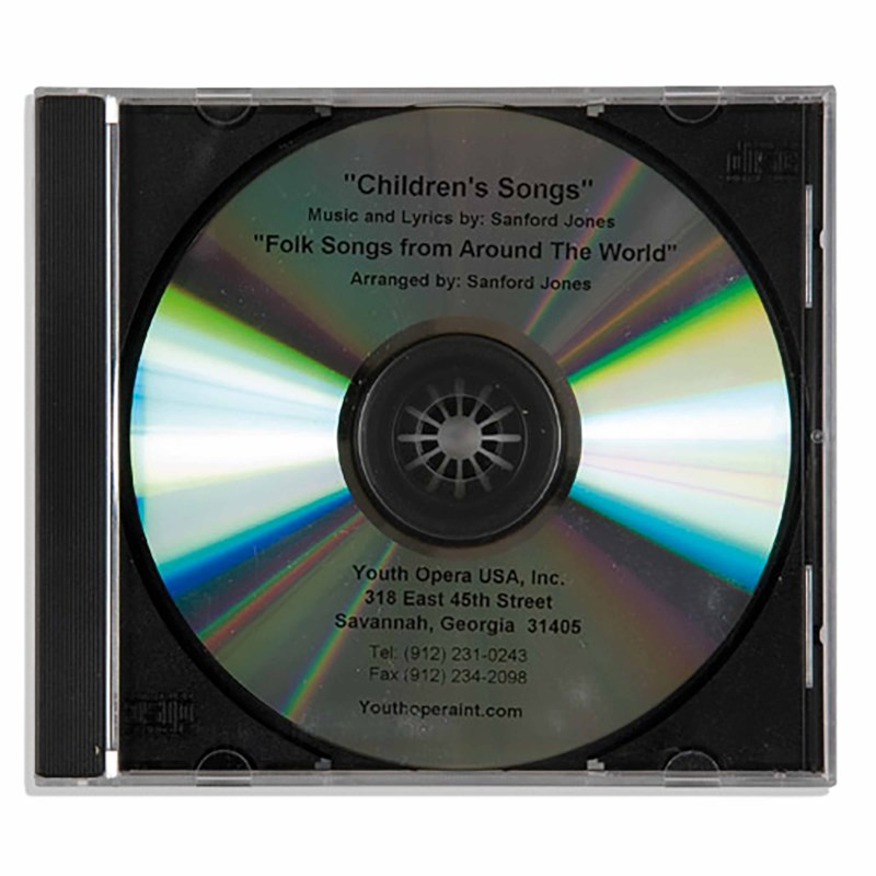 CD: Children's Songs / Folk Songs From Around The World