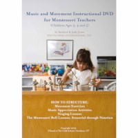Music And Movement Instructional DVD For Montessori Teachers