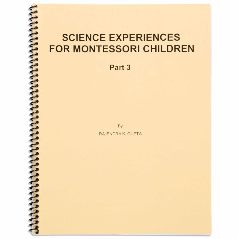 Science Experiences: Part 3
