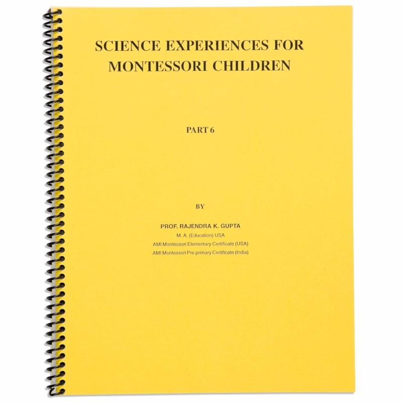 Science Experiences: Part 6