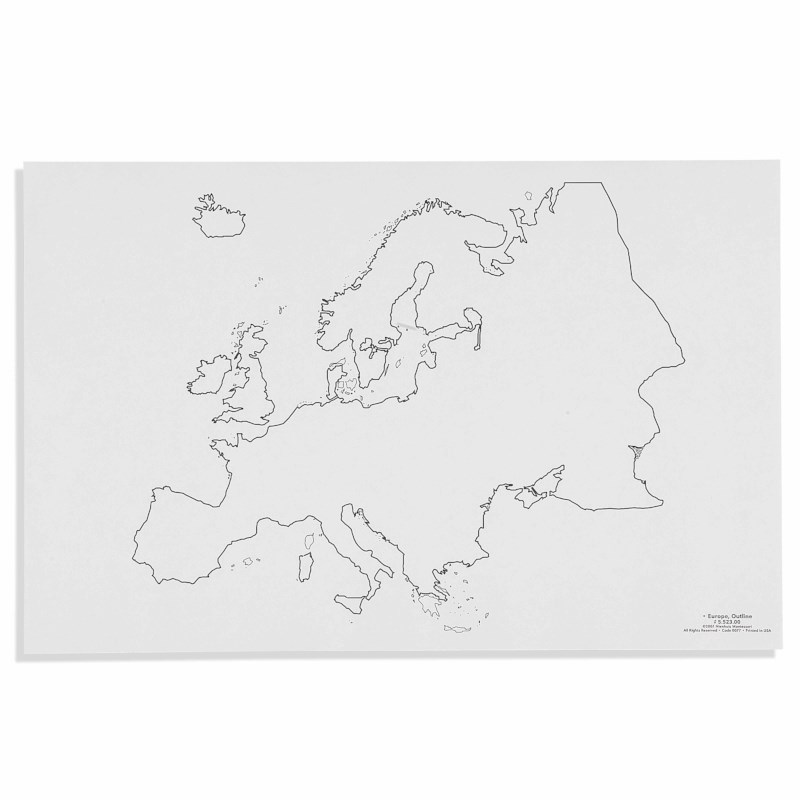 Europa - Umriss (50)