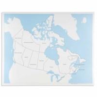 Kontrolkarte Kanada: beschriftet
