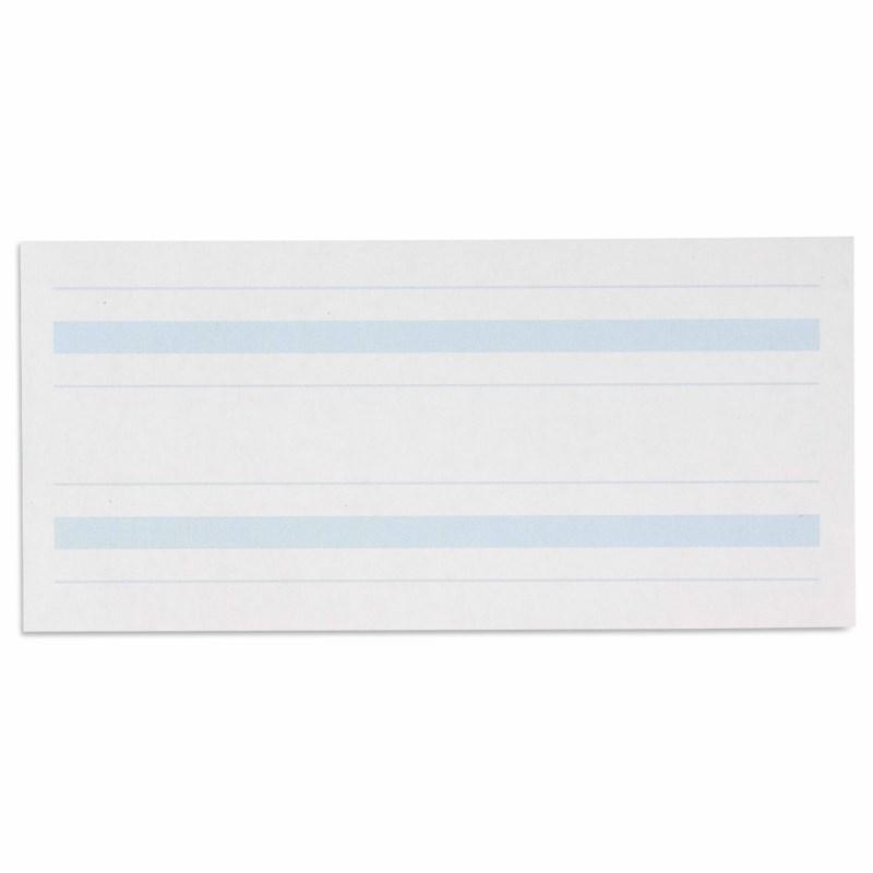 Schreibpapier mit blauer Linierung (500)