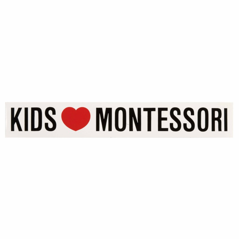 Aufkleber - Kids Love Montessori