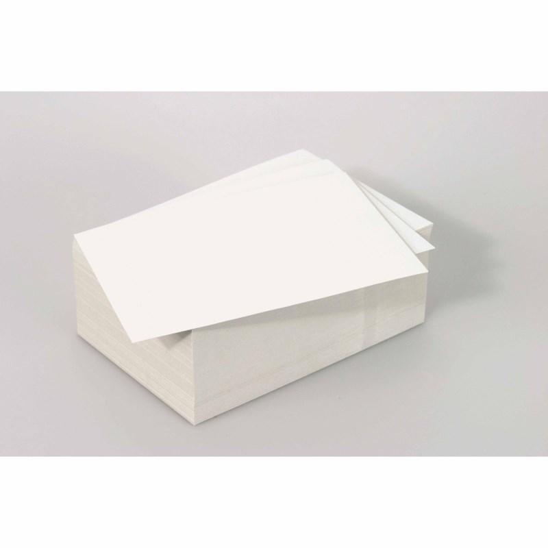 Stechkarton- weiß - 12,5 x 17,5 cm - 250 Blatt