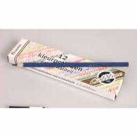 Buntstifte Hexagonal Goldline - Heutink - Karton mit 12 Stück - Dunkelblau