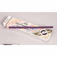 Buntstifte Hexagonal Goldline - Heutink - Karton mit 12 Stück - Violett