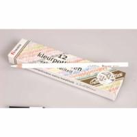 Buntstifte Hexagonal Goldline - Heutink - Karton mit 12 Stück - Weiß