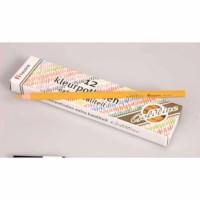 Buntstifte Hexagonal Goldline - Heutink - Karton mit 12 Stück - Dunkelgelb