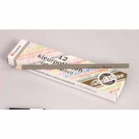 Buntstifte Hexagonal Goldline - Heutink - Karton mit 12 Stück - Grau