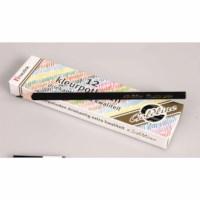 Buntstifte Dreieck Goldline - Heutink - Karton mit 12 Stück - Schwarz
