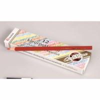 Buntstifte Dreieck Goldline - Heutink - Karton mit 12 Stück - Rot