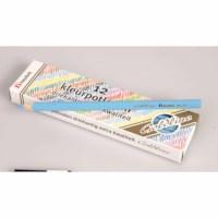 Buntstifte Dreieck Goldline - Heutink - Karton mit 12 Stück - Hellblau